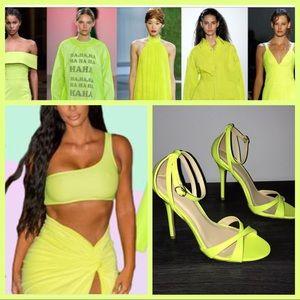 4cefa15ee7c Wild Diva Shoes | Erika Mustard Yellow Gold Mary Jane Peeptoe Heels ...